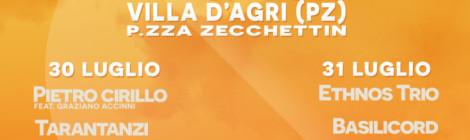 30 e 31 luglio Musica di Basilicata Live