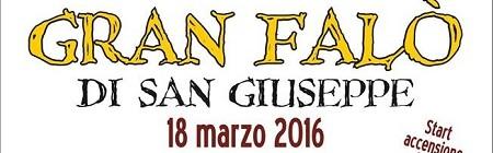 Fuoco San Giuseppe:annullato causa maltempo